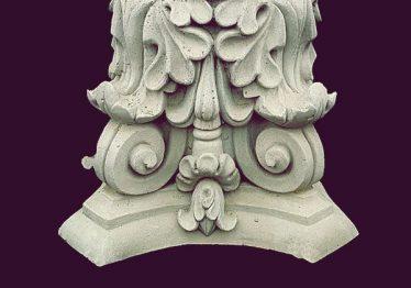Mẫu Hoa văn phù điêu đầu cột đẹp24