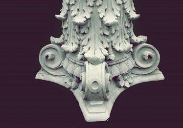 Mẫu Hoa văn phù điêu đầu cột đẹp25