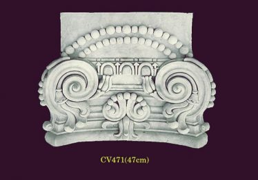 Mẫu Hoa văn phù điêu đầu cột đẹp32