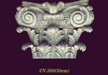 Mẫu Hoa văn phù điêu đầu cột đẹp35