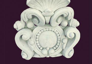 Mẫu Hoa văn phù điêu đầu cột đẹp40