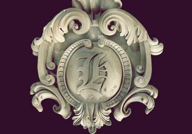 Mẫu Hoa văn phù điêu đầu cột đẹp41