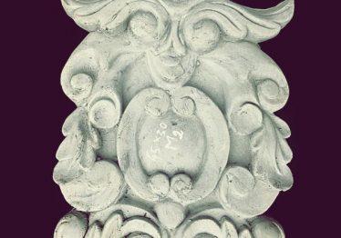 Mẫu Hoa văn phù điêu đầu cột đẹp42