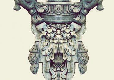 Mẫu Hoa văn phù điêu đầu cột đẹp45