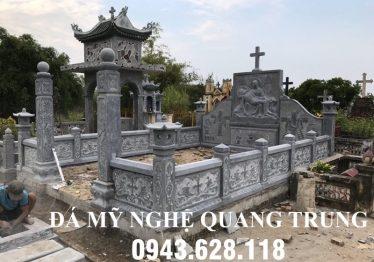Xây dựng Lăng Mộ Đá công giáo cao cấp tại Nam Định