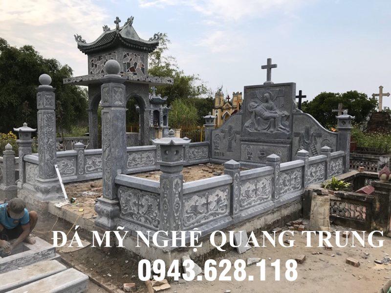 Khu Lang Mo Da cong giao dep tai Nam Dinh
