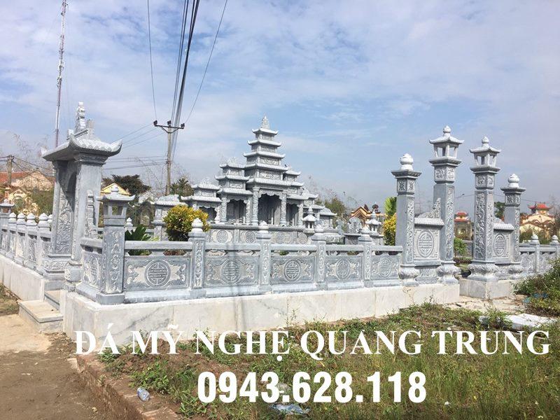 Lăng Mo Da cao cap Quang Trung tai Can Tho - mot kiet tac thiet ke dinh cao