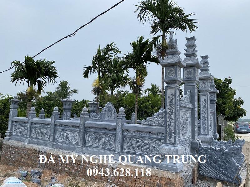 Chi tiết Lan can đá cua Khu Lang Mo Le Quoc