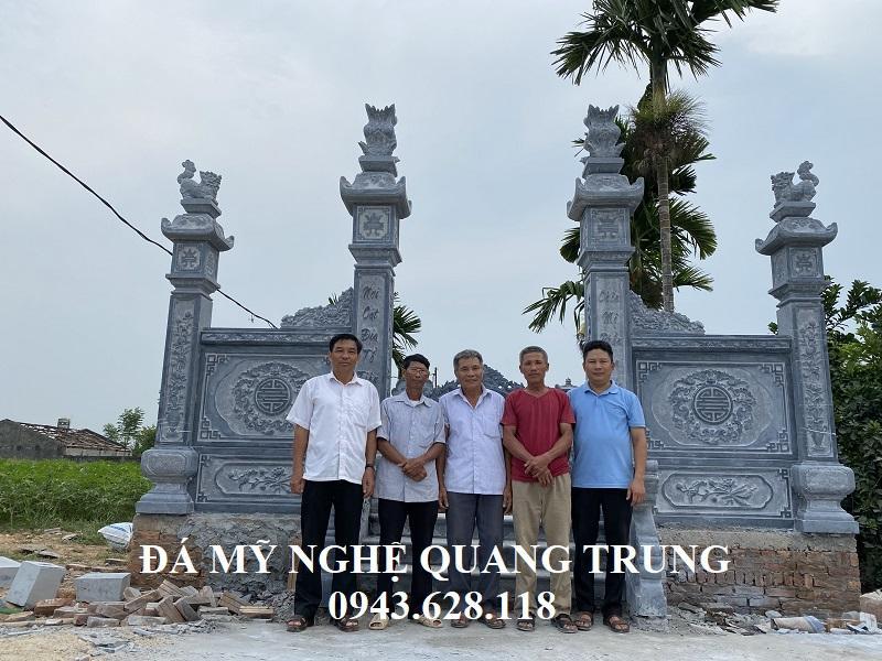 Cong trinh the hien thuong hieu Xay dung Lang mo da cao cap cua chung toi