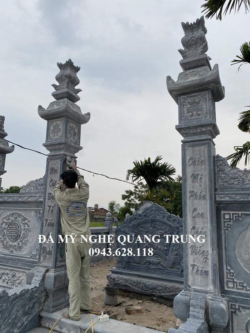 Hai ben Cot da vao khac hai cau doi Lang mo