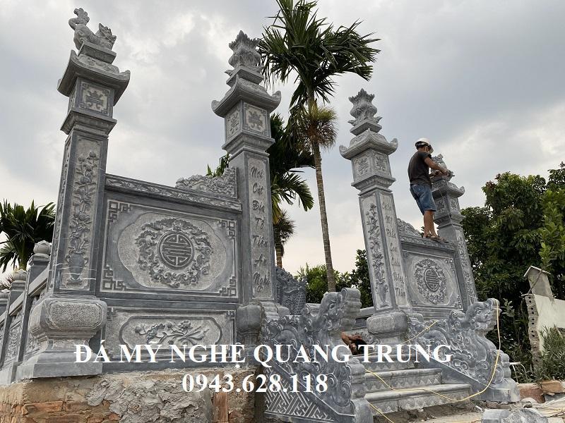 Mau Cong vao pho bien tai cac Khu Lang mo da