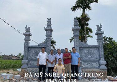 Tư vấn thiết kế, xây dựng Khu Lăng Mộ Đá đẹp Lê Quốc, diện tích 6.93 x 5.35m
