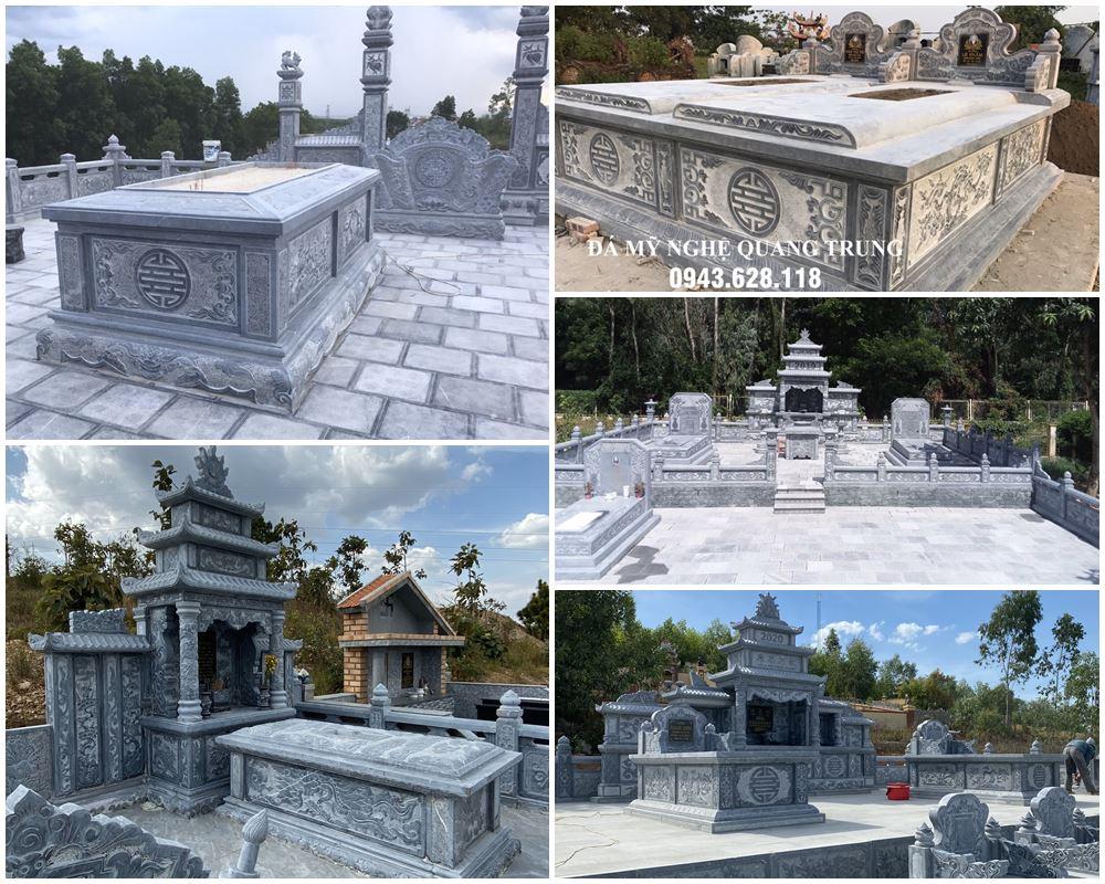 Tư vấn xây dựng Lăng Mộ da - Lăng thờ đá cao cấp tại Việt Nam hiện nay