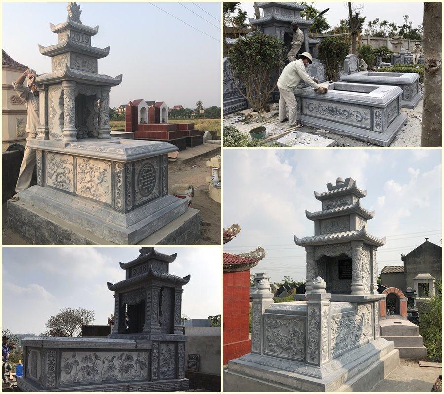 Tổng hợp các Mẫu Mộ đá ĐẸP Quang Trung năm 2020 - 2021