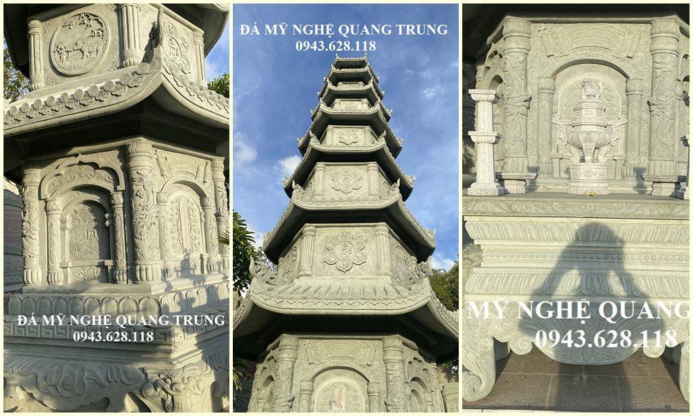Mo Bao thap da (Vườn Bảo tháp bằng đá đẹp, cao cấp Quang Trung), chúng tôi nhận Xây Mộ tháp đá đẹp, cao cấp trên toàn quốc.