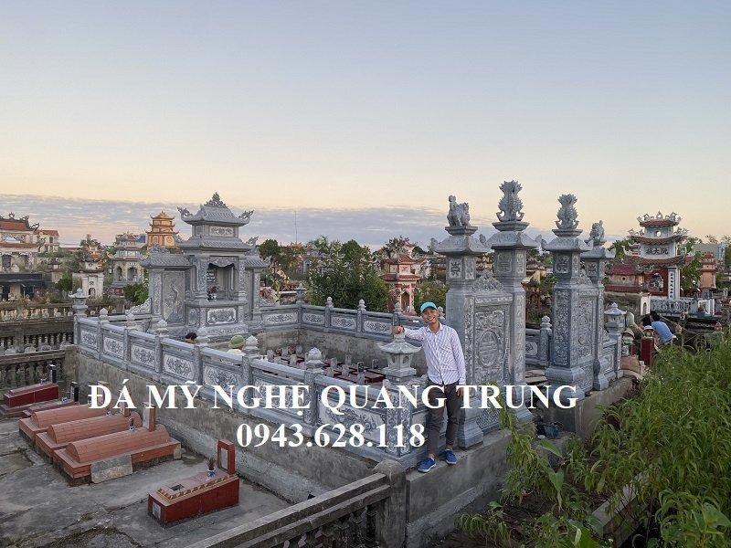 Cong trinh Khang dinh thuong hieu xay dung Lang mo da Quang Trung