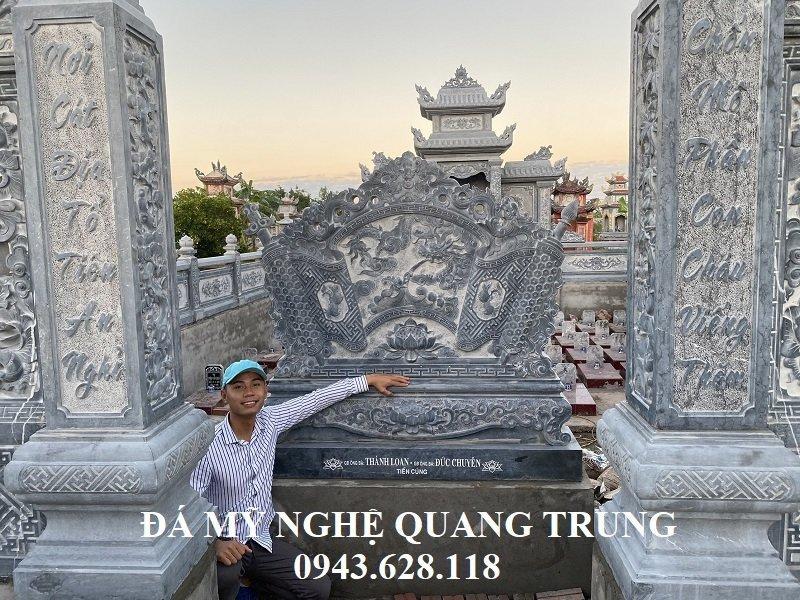 Cong vao Khu Lang mo da xanh tu nhien nguyen khoi DEP
