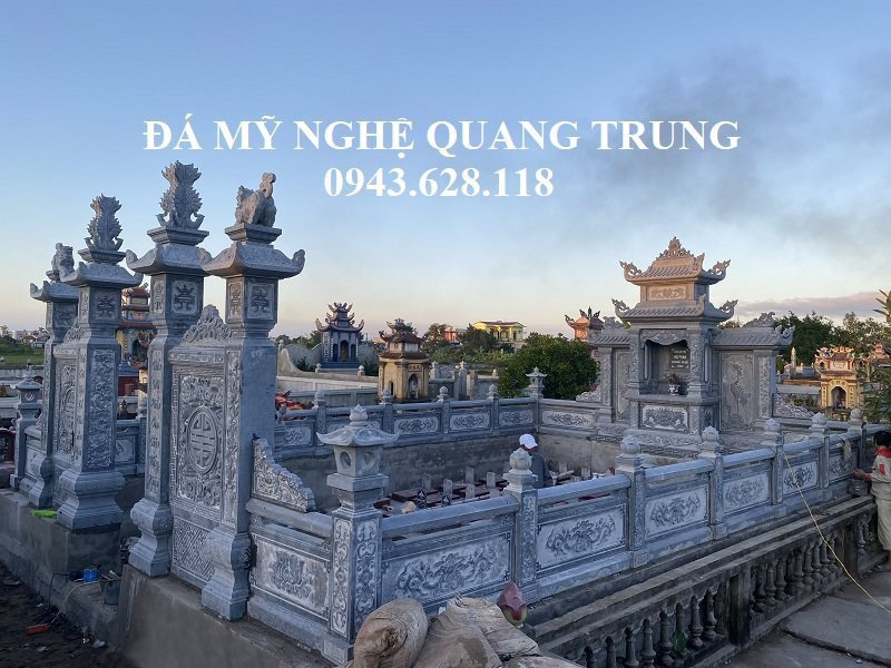 Khu Lang mo da xanh dep va dang cap tai Nam Dinh cua gia dinh Anh Duc