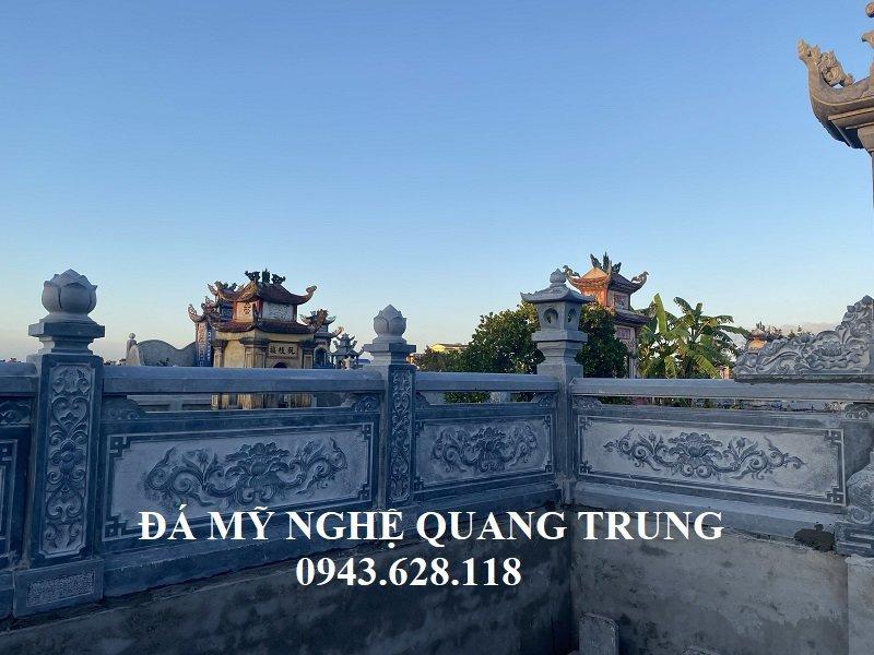 Lan can da xanh tu nhien nguyen khoi Quang Trung