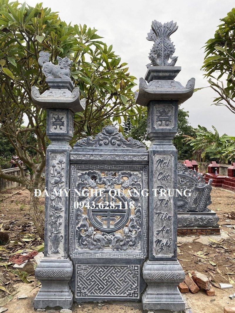 Mau Cong da - Cot da dep Quang Trung
