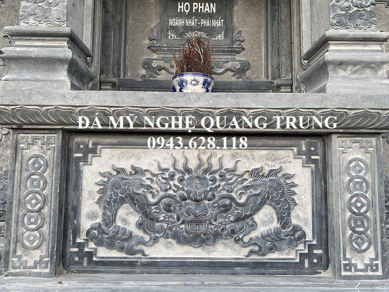 Phan mat truoc cua Lang tho da tram khac Ho phu rat kenh bong - sac net va can doi