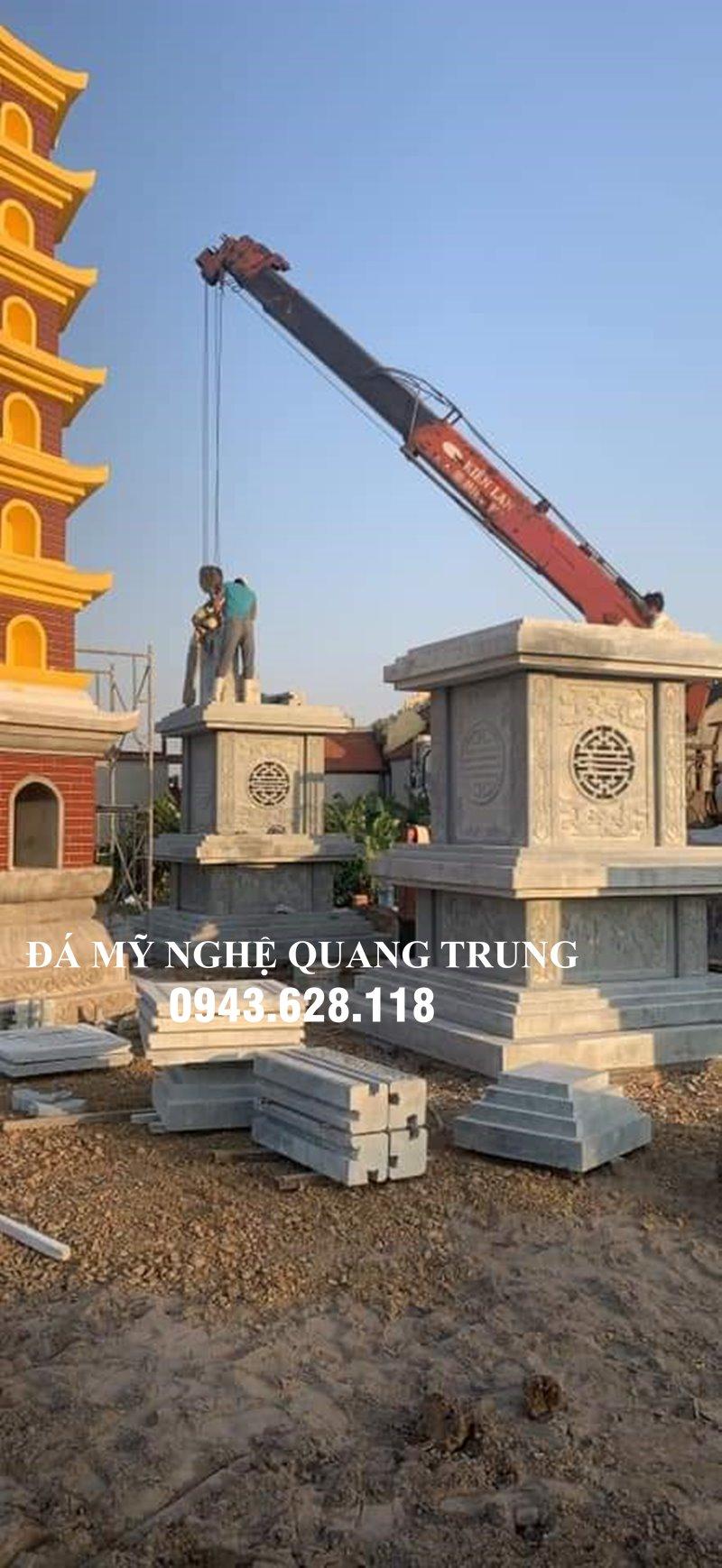 Xay Mo Thap Da - Bao thap da cao cap nguyen khoi Quang Trung