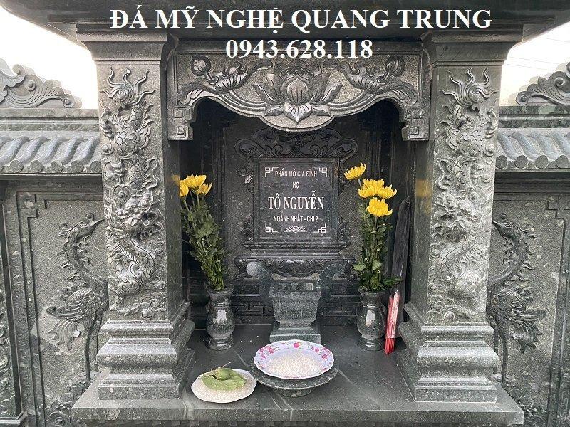 Cung tho da cua Lang tho Lăng mộ đá, Mộ đá Ninh Bình