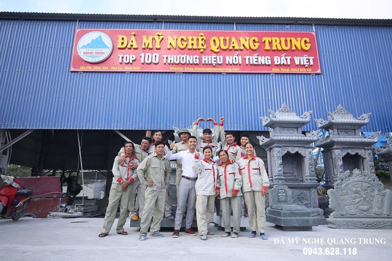 Da my nghe Quang Trung tro thanh TOP 100 Thuong hieu Uy tin