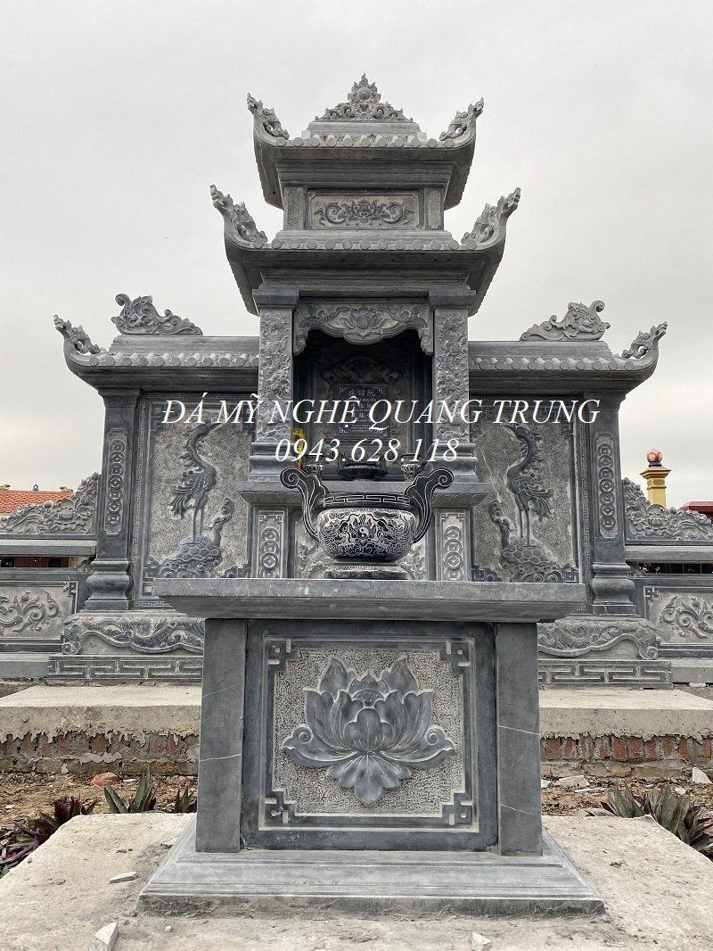 Khu Lang da co dien tich nho nhung xay dung bai ban - co chat luong cao