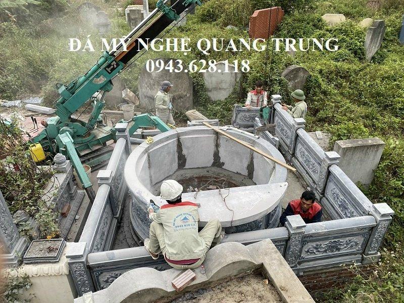 Lap dat Lang mo da tron dinh cao cua Quang Trung