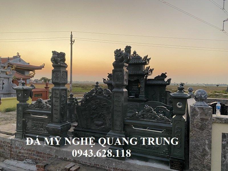 Mau Cong da dep da xanh reu cho Khu Lang mo