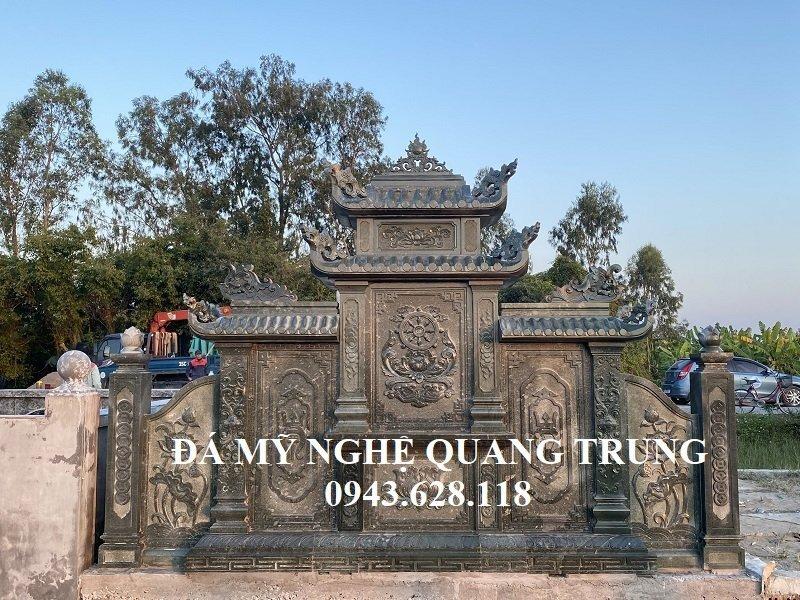 Phia sau Lang tho da (Long dinh da) xanh reu