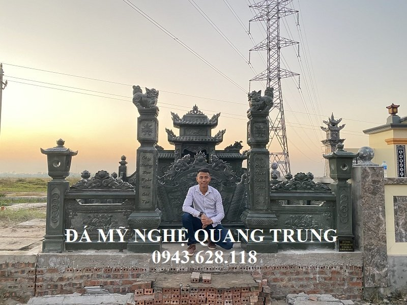 Tổng quan Công trình Xây dựng Lăng mộ đá xanh rêu tại Thái Bình