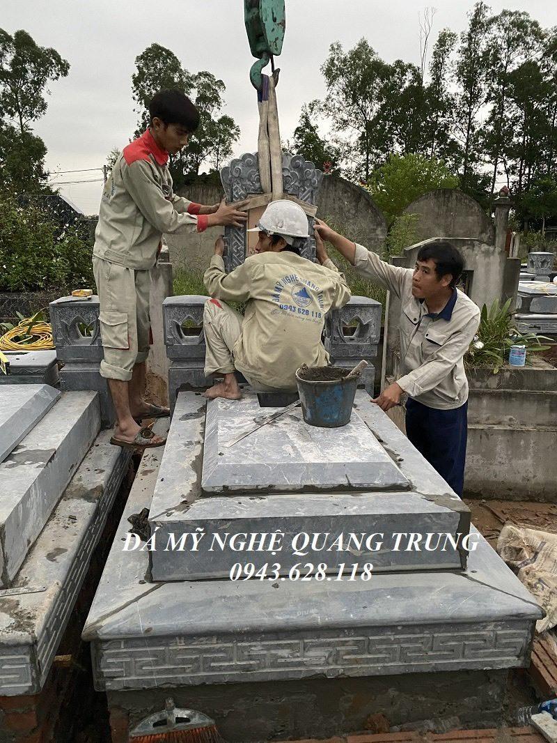 Da my nghe Quang Trung lap dat Mo da tai Thuong Tin Ha Noi