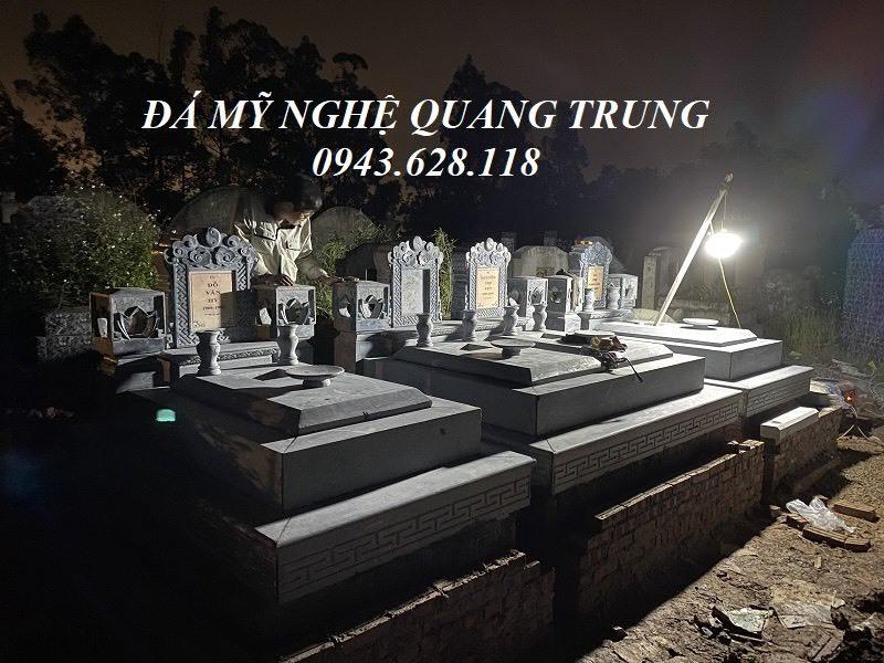Hoan thien Xay Mo da xanh Tam Son tai Thuong Tin Ha Noi