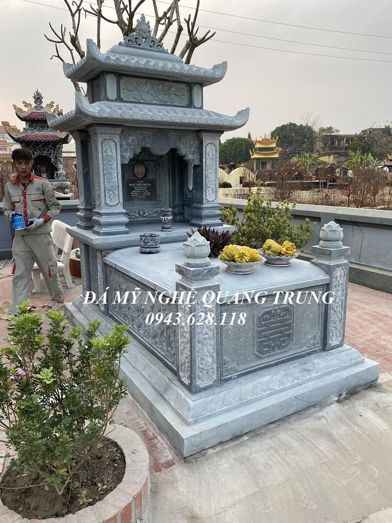 Mau Mo da hai mai da xanh den tu nhien Quang Trung