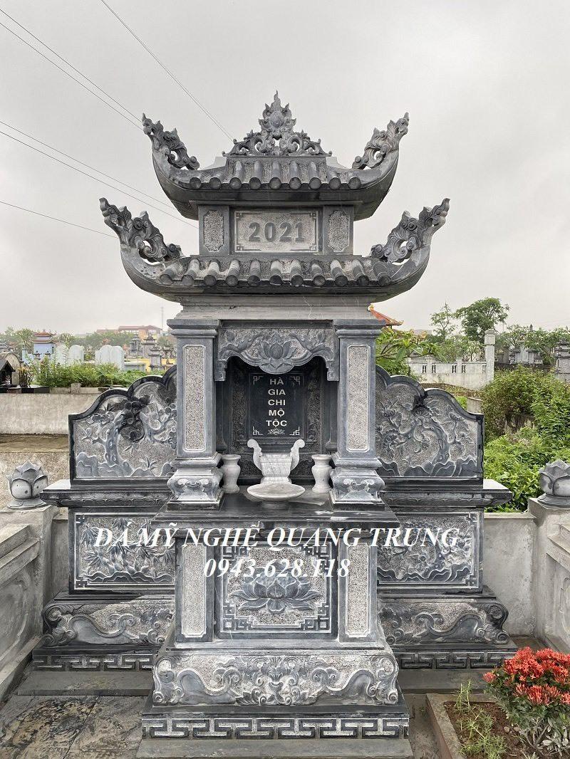Mau Lang tho da canh phong 2 mai dep Quang Trung