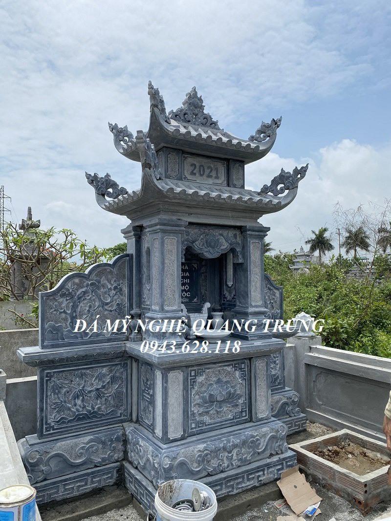Mau Lang tho da canh phong hai mai tai Ninh Binh