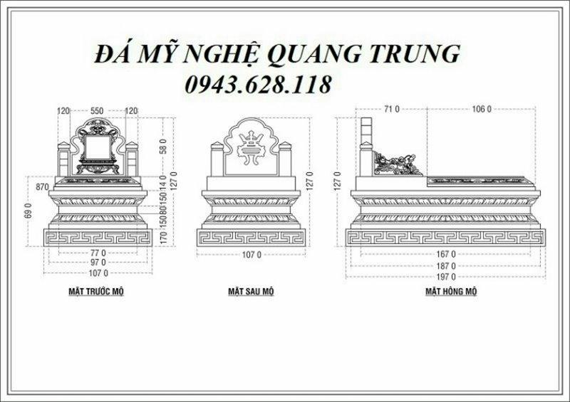 Ban ve thiet ke Mo da don Tam Son Ninh Binh
