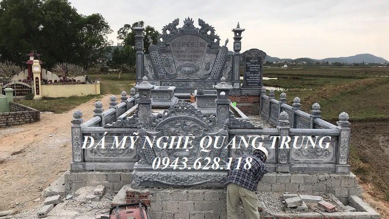 Lăng Mộ tổ đẹp - Mau Lang mo da dep Quang Trung Ninh Bình