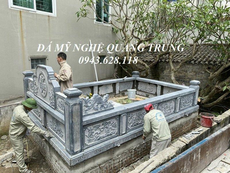 Lap dat Lang mo da cho Mo to tai Ninh Binh