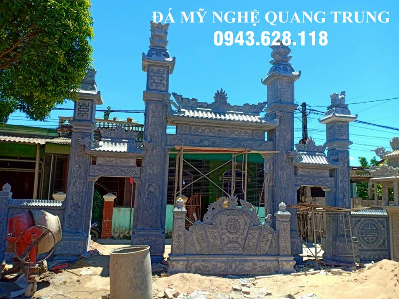 Mau Cong da dep - Cong da Nha tho ho