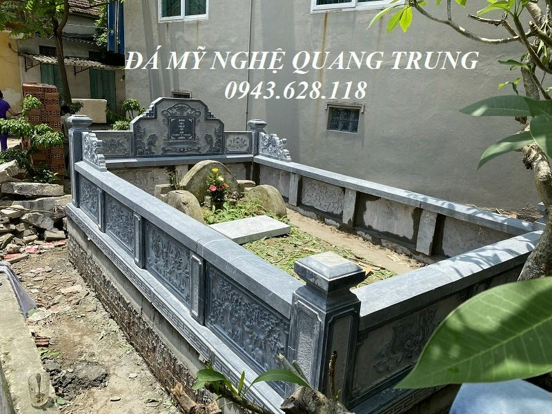 Mau Lang Mo to - Xay Lang mo to tai Ninh Binh