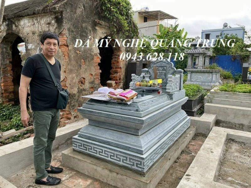 Mau Mo da Tam Son - Mo da don dep Quang Trung Ninh Binh