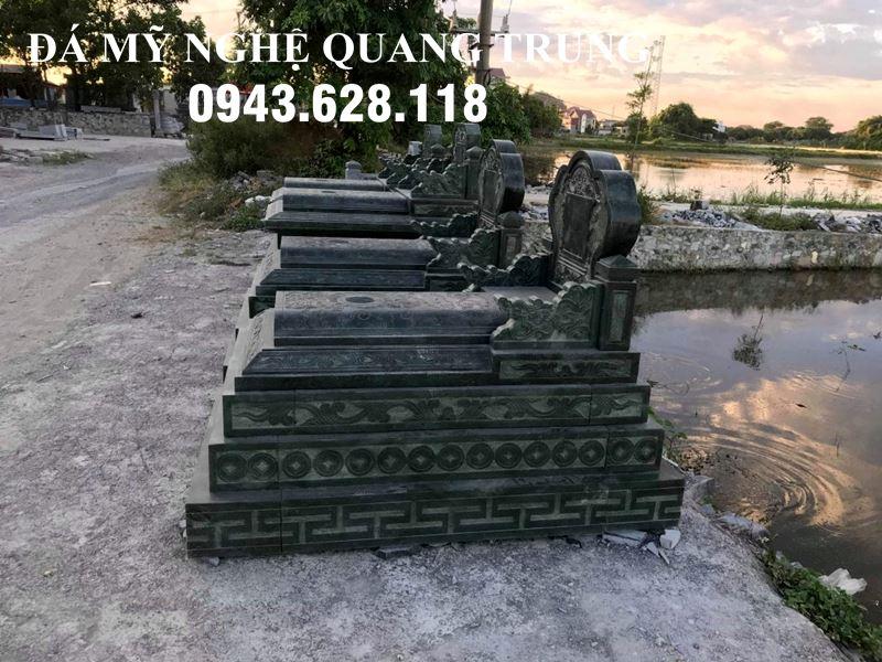 Mo da xanh reu Quang Trung