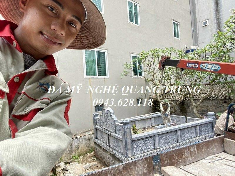 Nghe nhan tre Quang Trung tai Khu Lang mo