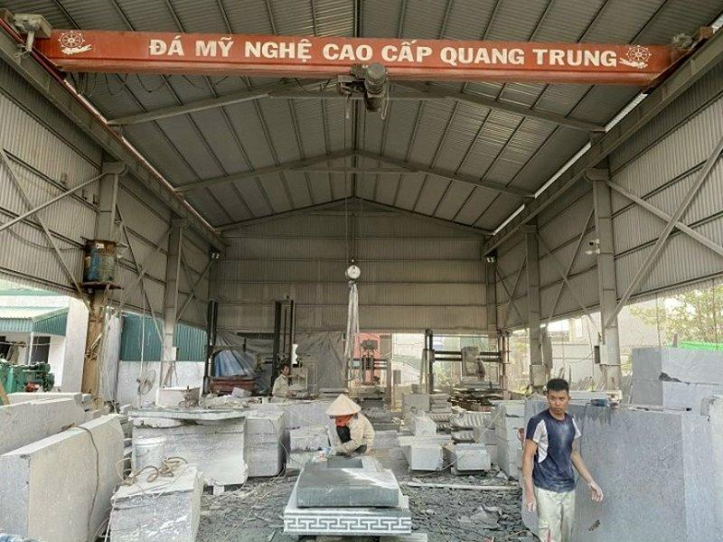 Xuong da che tac Da my nghe Quang Trung