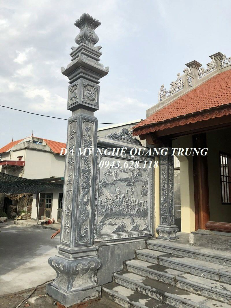 Mau Cot da Nha tho ho dep - Tu duong - Bao dien