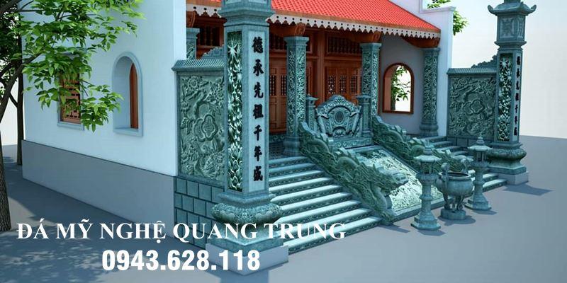 Thiết kế Cột đá - Cot da dong tru dep Nha tho ho