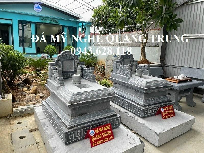 Mau Mo da xanh den - Mo da dep Ninh Binh